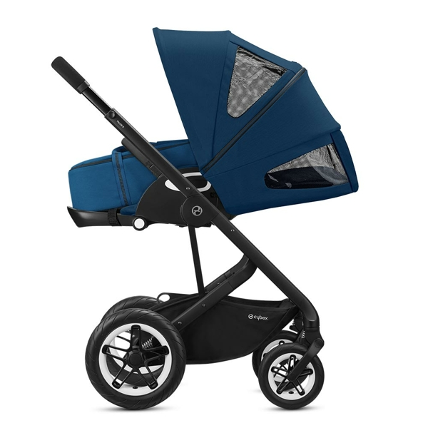 Cybex Talos S Lux sittvagn Silver Navy Blue