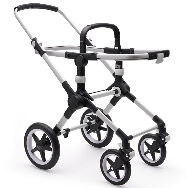 Bugaboo Fox 2 barnvagn Black/Grey Melange
