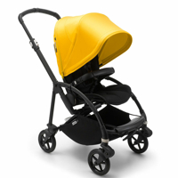 Bugaboo Bee 6 komplett sittvagn BLACK/BLACK-LEMON YELLOW