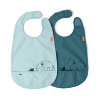 Done by Deer haklapp 2-pack Deer friends Blue