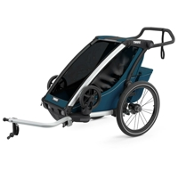 Thule Chariot Cross 1 multifunktionsvagn Majolica Blue